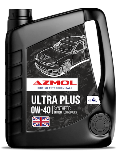 AZMOL MOTOR OIL ULTRA PLUS 0W-40 SN/CF, C3, 4L